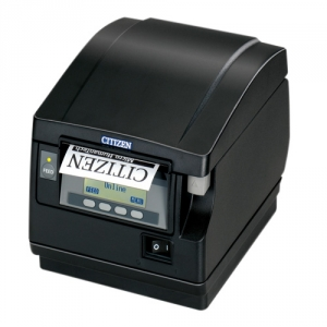 Citizen CT-S851II, BT, 8 Punkte/mm (203dpi), Cutter, Display, weiß